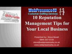 Online Reputation Management Tips for Local Business Owners