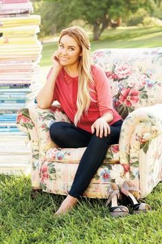 LC Lauren Conrad fall collection... love this outfit