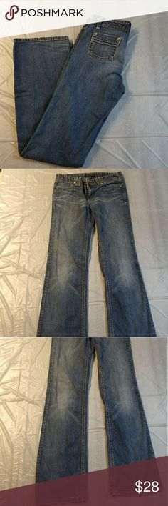 Banana Republic Denim Jeans Good pre owned condition.  Some gentle wear. Banana Republic Jeans