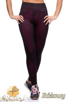 Dopasowane legginsy fitness.  #cudmoda #moda #ubrania #styl #leggings #leginsy #spodnie #fit #jogging