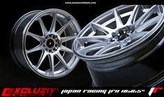 "Jante Japan Racing JR11. 18x8.5"", Hyper Silver."