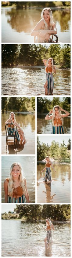 Senior Pictures on the River – Senior Pictures on the River Information About S … – girl photoshoot poses Summer Senior Pictures, Girl Senior Pictures, Senior Girls, Photography Senior Pictures, Photography Poses Women, Portrait Photography, Photography Ideas, Poster Photography, Photography Studios