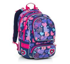 Plecak CHI 804 dla dziewczyn od 2 do 6 klasy. Piękny!