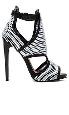 Steve Madden x Iggy Azalea Brixton Heel in Grey Multi