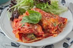 Vegetable Lasagna Roll-Ups