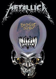 metallica artwork | Metallica posters - Metallica I'm Inside I'm You poster PP0339 - Panic ...