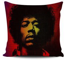 Almofada Jimi Hendrix