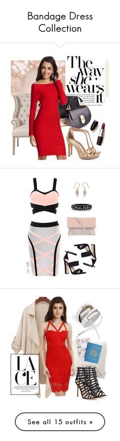 """Bandage Dress Collection"" by sasikewl ❤ liked on Polyvore"