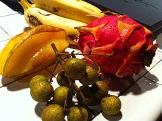 Native Hawaiian fruits