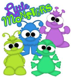 Little Monsters - Treasure Box Designs Patterns & Cutting Files (SVG,WPC,GSD,DXF,AI,JPEG)