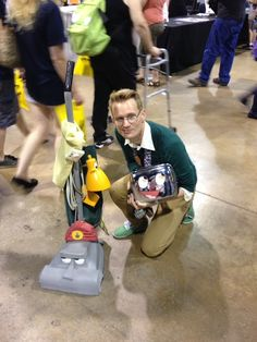 The Brave Little Toaster Cosplay