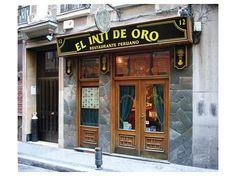 El Inti de Oro Peruvian restaurante - Madrid