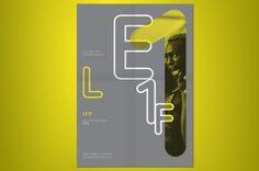 Le1f by Ronan Kelly, via Behance