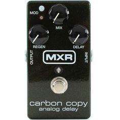 MXR - Carbon Copy M-169 Analog Delay, Little Green Giant!