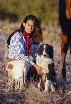 border collie :) yay!!! Border collies and horses!!