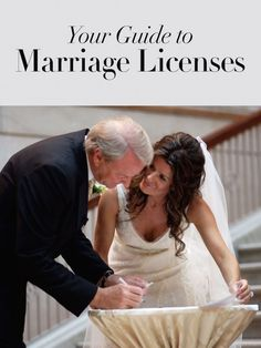 How to Get Your Marriage License | Photography: Artisan Events. Read More:  http://www.insideweddings.com/news/planning-design/what-you-need-to-know-about-marriage-licenses/3097/
