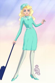 Come Fly with Me.... by Wren ~ Sailor Moon Dress Up