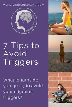 How to avoid migraine triggers can be tricky. Here are 7 tips to help you avoid your migraine triggers. When you know better, you can do better. Click here now... education is key to suffering less.