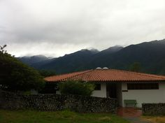 Picos nevados, vista desde la ciudad de Mérida. Año junio 2014