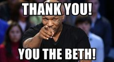 101 Funny Thank You Memes to Say Thanks for a Job Well Done Funny Get Well Meme, Funny As Hell, You Funny, Funny Stuff, Funny Thank You Quotes, Funny Quotes, Mike Tyson Memes, Cute Memes
