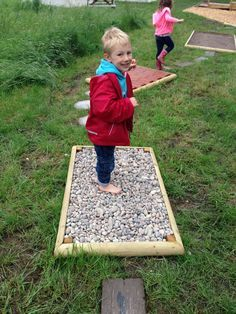 Sensory Trail on Pinterest | Experiential, Sensory Garden and Therapy Sensory Rooms, Sensory Activities, Outdoor Activities, Preschool Playground, Backyard Playground, Playground Ideas, Outdoor Education, Outdoor Learning, Sensory Garden