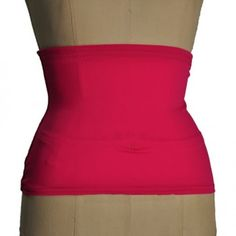 Hot Pink Ostomy Wrap with black gripper elastic! $29.99