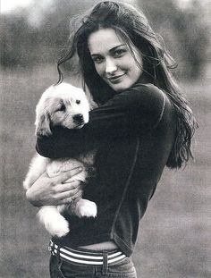 Ashley Garrison for Abercrombie & Fitch by Bruce Weber