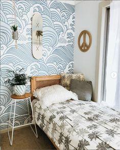 Room Ideas Bedroom, Bedroom Decor, Beachy Room Decor, Bedroom Lanterns, Ocean Room, Ocean Bedroom Kids, Boys Surf Room, Ocean Inspired Bedroom, Beach Room