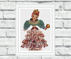 Counted cross stitch patterns Latin by CrossStitchObsession