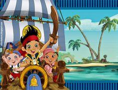 Tarjetas De Invitacion A Cumpleaños De Jake Y Los Piratas En Hd Gratis 2 HD Wallpapers