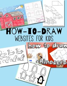 How-to-Draw Websites for Kids http://www.makeandtakes.com/how-to-draw-websites-for-kids