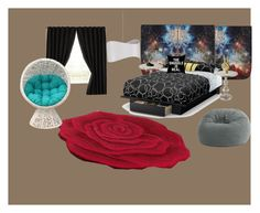 """""""room"""" by cliffordreyanna on Polyvore featuring interior, interiors, interior design, home, home decor, interior decorating, Safavieh, Hooker Furniture, South Shore and Eclipse"""