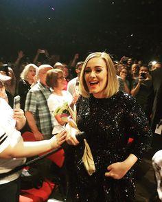 Adele performing at ''KeyArena', Seattle, WA (July, 25)