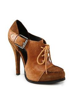 Elizabeth and James - Casi Ankle Boots, cognac