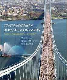 More than any other book for the introductory human geography course, Contemporary Human Geography shows what geographers actually do—how they conduct research, develop new insights, teach us about the world from a geographer's perspective, and apply their skills in a wide range of academic and professional pursuits.
