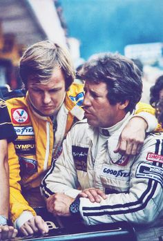 """My strongest memory of Ronnie is the genuine friendship we shared and, to me, there is no better remembrance of any individual than that. I was lucky to be his friend."" -1978 World Champion Mario Andretti about his late Lotus team-mate Ronnie Peterson."