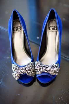 pretty blue shoes