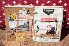 Mini album kit SKC de juillet - le blog lescreademaska