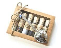 Tea & Sugar Sampler Gift Set 6 Mini Bottles of Loose Leaf Tea Gift Sets, Tea Gifts, Tea Set, Mini Bottles, Glass Bottles With Corks, Tea Infuser, Tea Packaging, Loose Leaf Tea, Design Poster