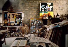 "barcarole: "" Studio of Le Corbusier in 1959, by René Burri. """