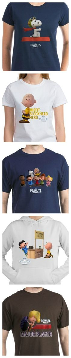 The Peanuts Movie is finally here! Display your fandom for Snoopy, Charlie Brown and the whole gang with official clothing, accessories and home decor featuring movie artwork. Start shopping at CollectPeanuts.com to support our site.