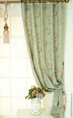 Home Decor ideas Decor, Diy Curtains, French Country Bedrooms, House Styles, Curtains Bedroom, Cheap Home Decor, Home Decor, Den Decor, Bedroom Vintage