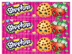 Shopkins Waterbottle Labels Free Printable - Instant Party