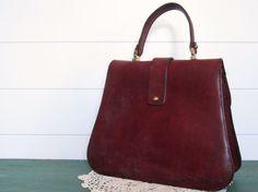 RARE Vintage Etienne Aigner Purse Leather Handbag by Kamiann Natural  Leather 03f475ead1439