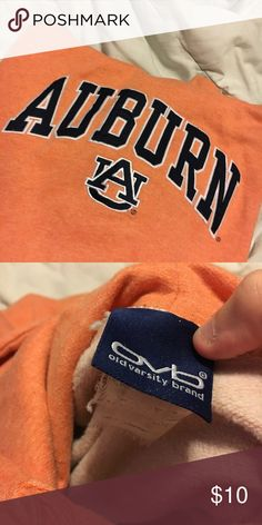 Auburn Hoodie Auburn university hoodie. In great condition! Any additional pics needed let me know. It is a size XL, although the tag is very worn and unable to read. Feel free to make offer or bundle, friends! Has pockets in the front Tops Sweatshirts & Hoodies