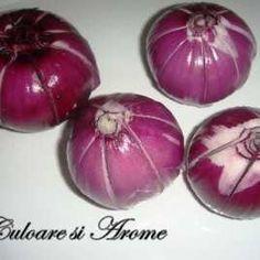 Ceapa la cuptor Onion, Vegetables, Food, Onions, Essen, Vegetable Recipes, Meals, Yemek, Veggies
