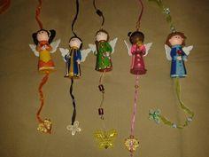 Angelitos porcelanicron  talleraradia@gmail.com