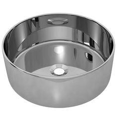 vidaXL Wastafel 40x15 cm keramiek zilverkleurig   Vergelijkprijs.nl Bathroom Basin, Washroom, Powder Room, Dog Bowls, Contemporary Design, Sink, Toilet, Cleaning, Silver
