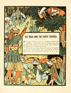 Crane_ali baba and the forty thieves-01