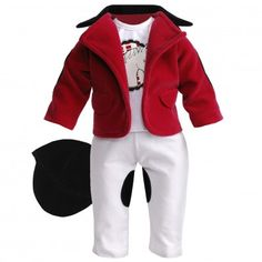 """""""Elegant Equestrian"""" Horse Riding Set Doll Clothes Outfit for 18 inch Play Doll"""
